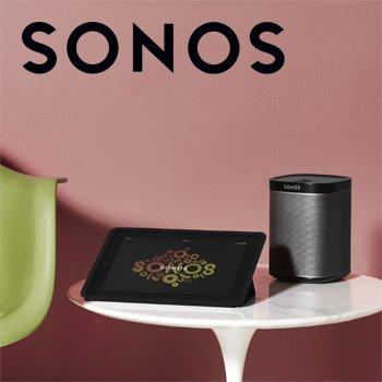 Sonos landing page
